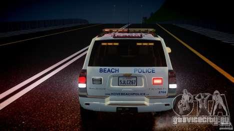 Chevrolet Trailblazer Police V1.5PD [ELS] для GTA 4 салон