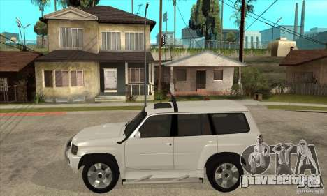 Nissan Patrol 2005 для GTA San Andreas вид слева