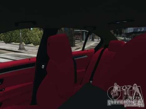 BMW M5 F10 2012 Aige-edit для GTA 4 вид сзади