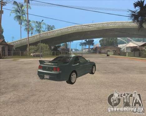 Nissan Skyline GT-R BNR33 для GTA San Andreas вид справа