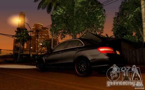 Mercedes Benz E63 DUB для GTA San Andreas вид справа