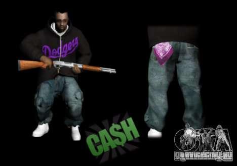 Pack Ballas Soldiaz Families V.2 для GTA San Andreas третий скриншот