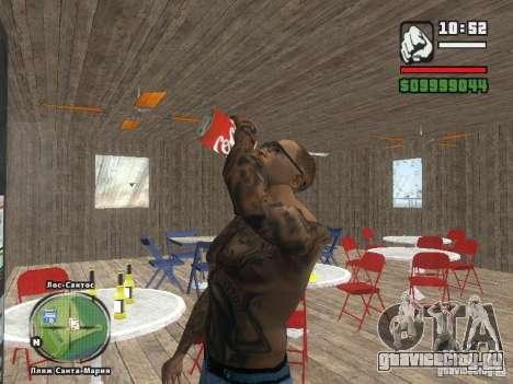 Новый Бар на пляже Верона для GTA San Andreas шестой скриншот