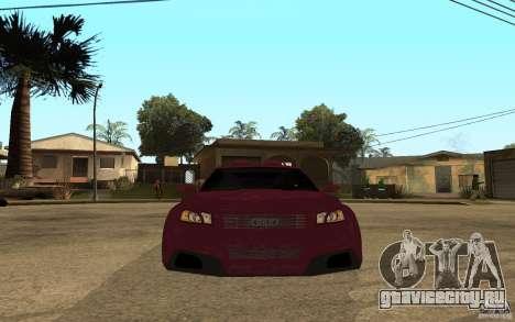 Audi A3 Tuned для GTA San Andreas вид справа