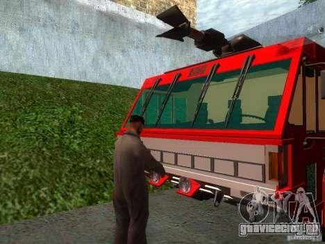 Реалистичная пожарная станция в СФ V2.0 для GTA San Andreas третий скриншот