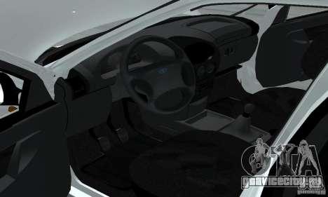 Lada Kalina Hatchback Stock для GTA San Andreas вид сзади