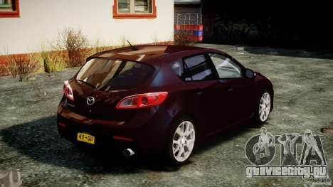 Mazda Speed 3 [Beta] для GTA 4 вид сбоку