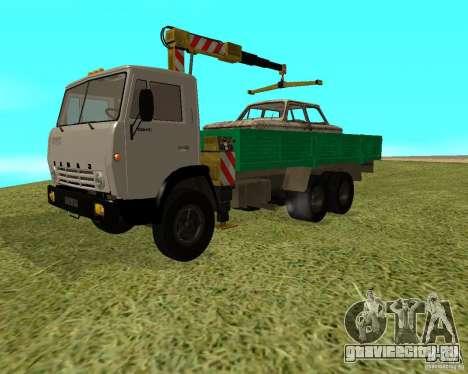 КАМАЗ 53212 манипулятор для GTA San Andreas