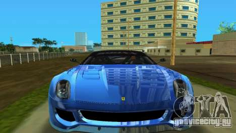 Ferrari 599XX для GTA Vice City вид слева