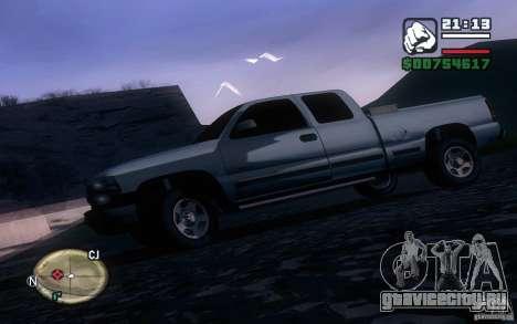 Chevrolet Silverado 2000 для GTA San Andreas вид слева
