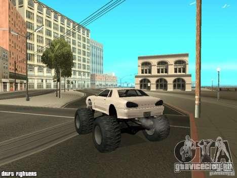Elegy Monster для GTA San Andreas вид справа