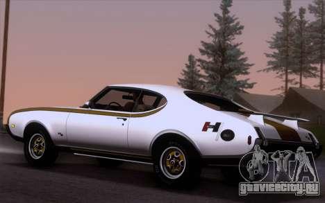 Oldsmobile Hurst/Olds 455 Holiday Coupe 1969 для GTA San Andreas вид слева