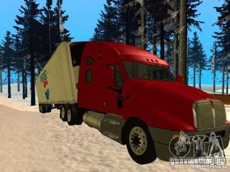 Trailer Artict3 для GTA San Andreas вид слева