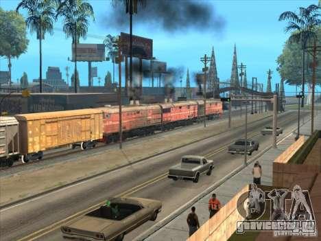3ТЭ10М-1199 для GTA San Andreas вид справа