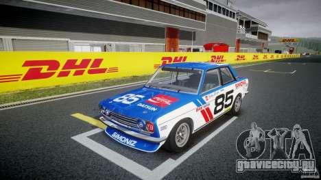 Datsun Bluebird 510 1971 BRE для GTA 4