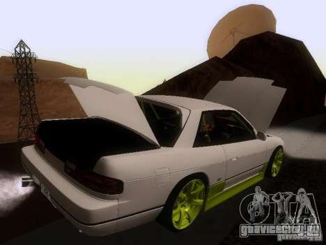 Nissan Silvia S13 Drift Style для GTA San Andreas колёса