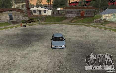 Лада Приора light tuning для GTA San Andreas вид слева