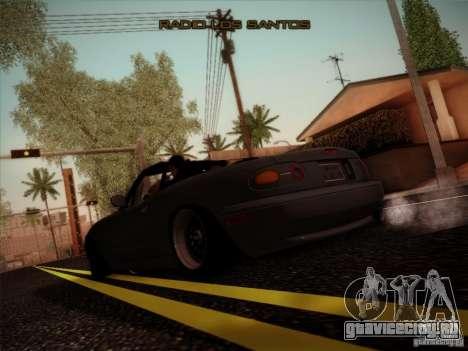 Mazda MX5 JDM для GTA San Andreas вид справа