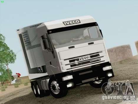 Iveco Eurostar для GTA San Andreas вид слева