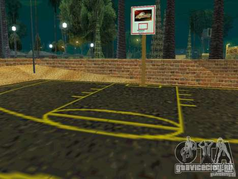 New basketball court для GTA San Andreas