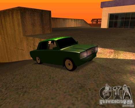 ВАЗ 2107 Бродяга v.1 для GTA San Andreas вид справа