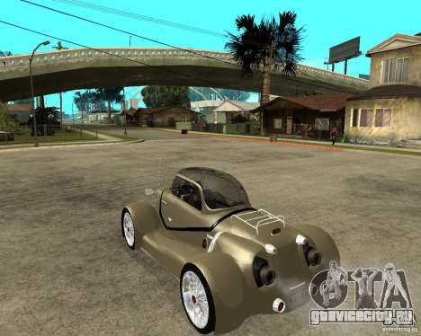 Messerschmitt GT500 Tiger Hard tuned для GTA San Andreas вид слева