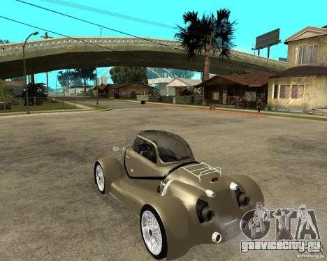 Messerschmitt GT500 Tiger Hard tuned для GTA San Andreas вид слева