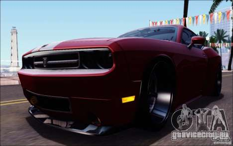 Dodge Challenger Rampage Customs для GTA San Andreas салон