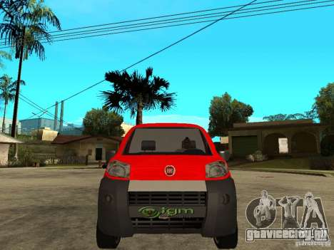 Fiat Fiorino Combi для GTA San Andreas вид справа