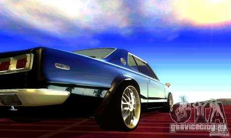 Nissan Skyline 2000-GTR для GTA San Andreas вид слева