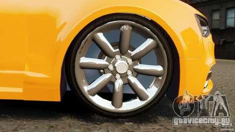 Audi A6 Avant Stanced 2012 v2.0 для GTA 4 вид сверху