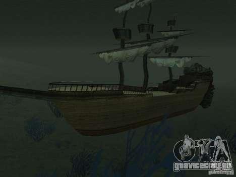 Пиратский корабль для GTA San Andreas седьмой скриншот