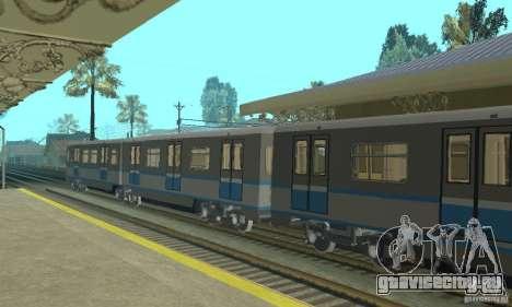 Русич 4 train для GTA San Andreas вид справа
