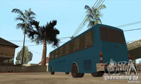 ЛАЗ 52078 (Лайнер-12) для GTA San Andreas вид сзади слева