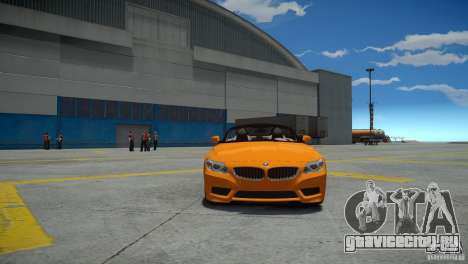 BMW Z4 sDrive 28is для GTA 4 вид справа