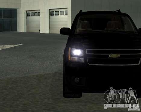 Chevrolet Tahoe BLACK EDITION для GTA San Andreas вид слева