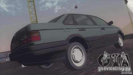 Volkswagen Passat B3 v2 для GTA San Andreas вид справа