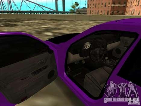 Lexus IS300 - Stock для GTA San Andreas вид сзади