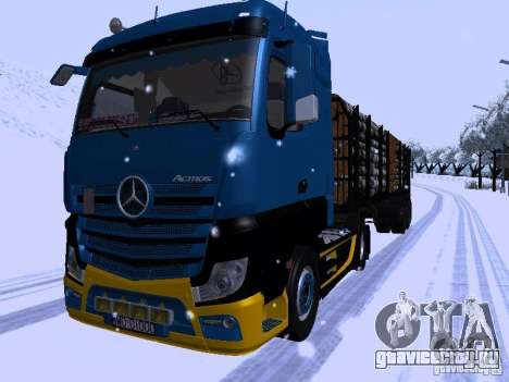 Mercedes Benz Actros MP4 для GTA San Andreas