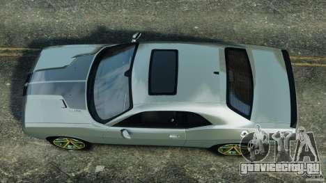 Dodge Challenger SRT8 2009 [EPM] для GTA 4 вид справа