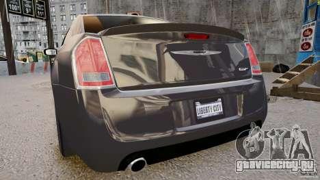 Chrysler 300 SRT8 2012 для GTA 4 вид справа