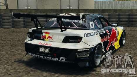 Mazda RX-8 Mad Mike для GTA 4 вид сзади слева