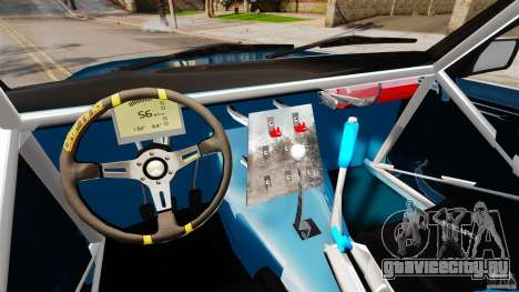 BMW E30 V8 Drift для GTA 4 вид справа