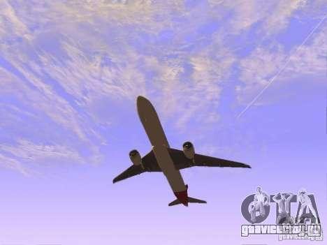 Boeing 787 Dreamliner Qantas для GTA San Andreas вид справа