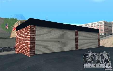 Новый гараж в Дороти для GTA San Andreas четвёртый скриншот
