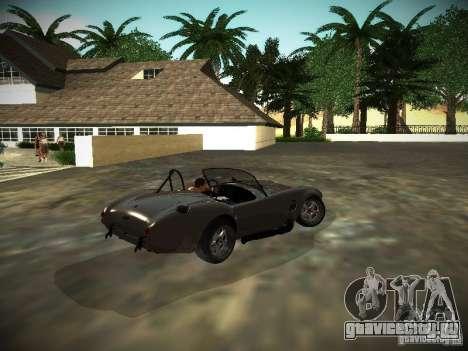 Shelby Cobra для GTA San Andreas вид справа