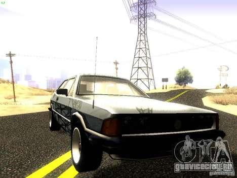 Volkswagen Scirocco Mk1 для GTA San Andreas вид сбоку