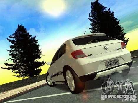Volkswagen Gol Rallye 2012 для GTA San Andreas вид слева