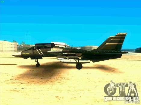 F-14 Tomcat Schnee для GTA San Andreas вид слева