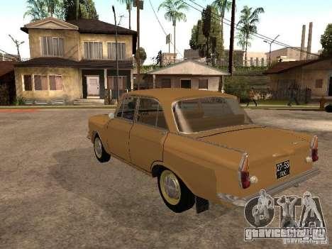 Москвич 408 Элит для GTA San Andreas вид сзади слева